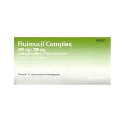 FLUIMUCIL COMPLEX 12 COMP...