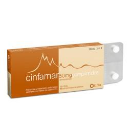 CINFAMAR 50 MG 10 COMPRIMIDOS