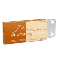 CINFAMAR 50 MG  4 COMPRIMIDOS