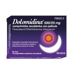 DOLOMIDINA 50025 MG 10 COMP...