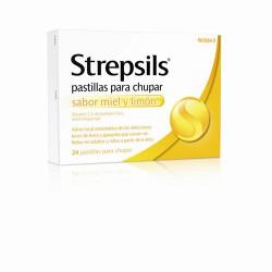STREPSILS MIEL Y LIMON 24...