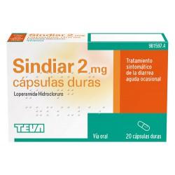 SINDIAR 2MG 20 CAPSULAS