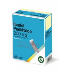 IBUDOL PEDIATRICO 200 MG 20...